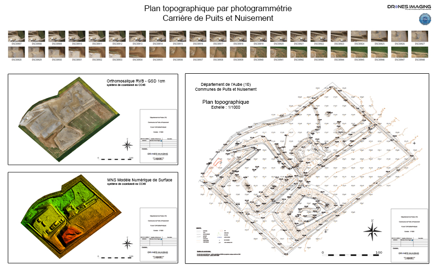 Topographic Map Volume Calculation Achieved By Aerial Photogrammetry