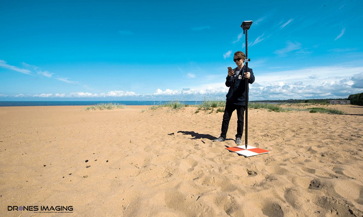 Emlid RTK GNSS Reach RS+ | DRONES IMAGING