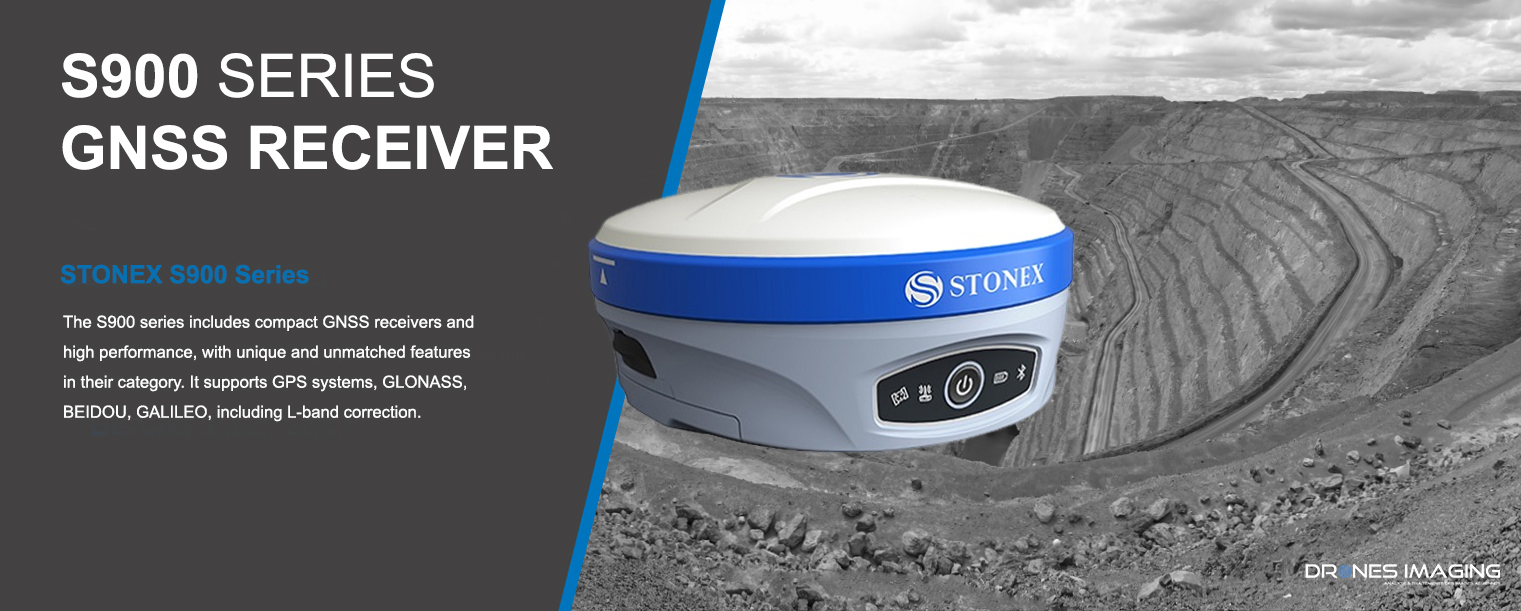 STONEX Multi-band RTK GNSS receiver | DRONES IMAGING